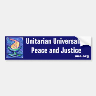 UU Chalice Peace and Justice Bumper Stickers
