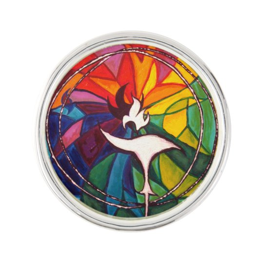 UU Flaming Chalice lapel pin UnitarianUniversalist