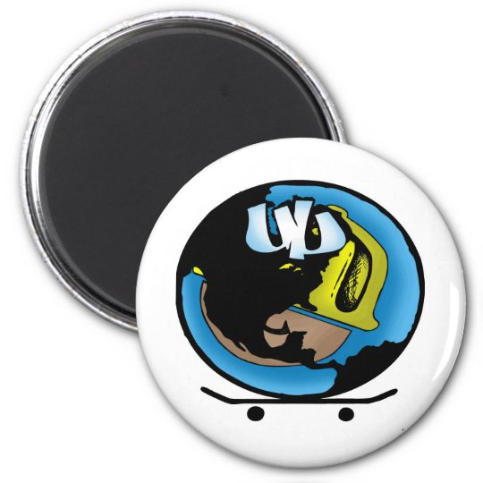 UUWorld 6 Cm Round Magnet