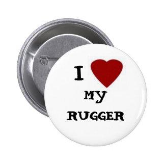 UW madison women's rugby 6 Cm Round Badge