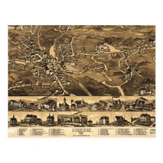Uxbridge, Massachusetts (1880) Postcard