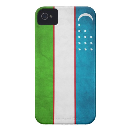 Uzbek Flag iPhone case cover
