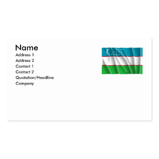 UZBEKISTAN BUSINESS CARDS