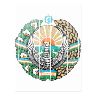 Uzbekistan Coat Of Arms Post Cards