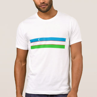 Uzbekistan country long flag nation symbol T-Shirt