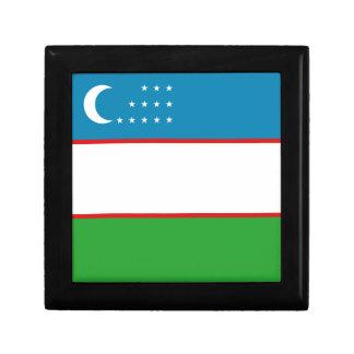 Uzbekistan Flag Gift Box