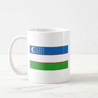 Uzbekistan Flag ~ Map Mug