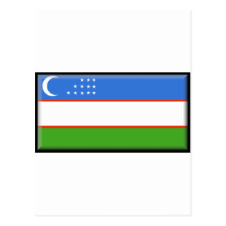 Uzbekistan Flag Post Cards