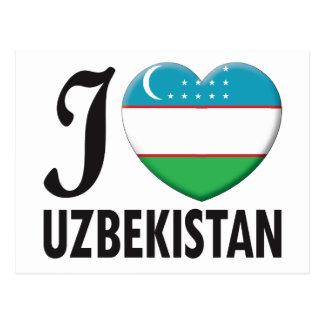 Uzbekistan Love Postcards