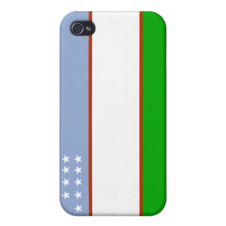 Uzbekistan national flag  case for iPhone 4