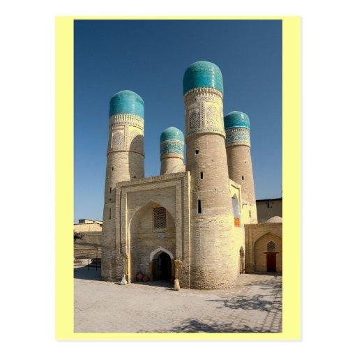 uzbekistan post cards