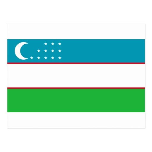 uzbekistan postcards