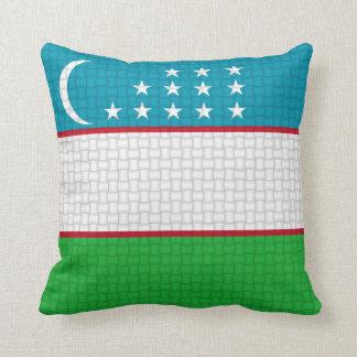 Uzbekistan Uzbekistani flag Cushion