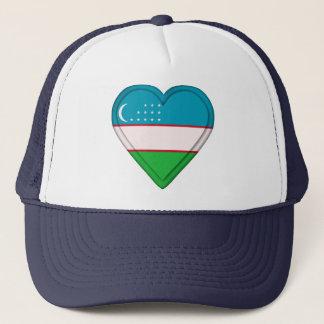 Uzbekistan Uzbekistani flag Trucker Hat