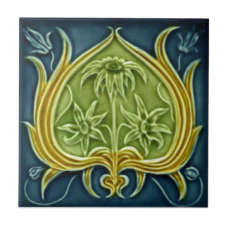 V0002 Victorian Antique Reproduction Ceramic Tile