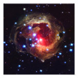 V838 Monocerotis Star (Hubble Telescope) Photo Art
