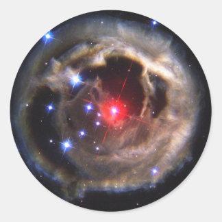 V838 Monocerotis star NASA Classic Round Sticker