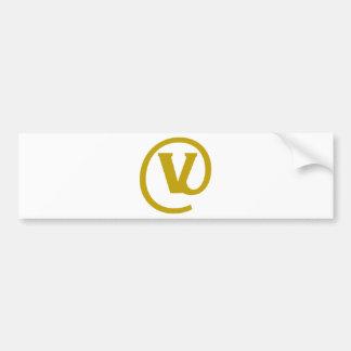 V-at Bumper Sticker
