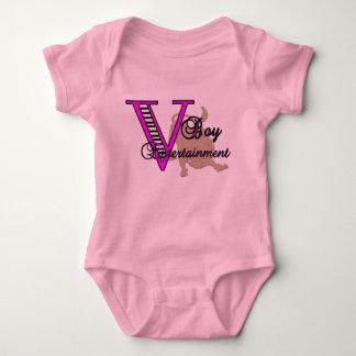 v baby baby bodysuit