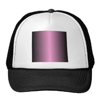 V Bi-Linear Gradient - Black and Pink Cap