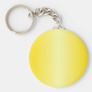 V Bi-Linear Gradient-Dark Yellow and Light Yellow Key Chain