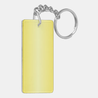 V Bi-Linear Gradient-Dark Yellow and Light Yellow Acrylic Key Chain