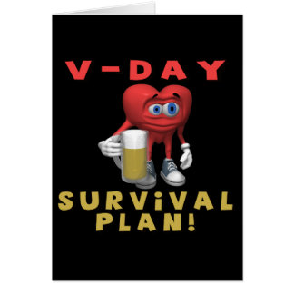 V-Day Survival Plan Card