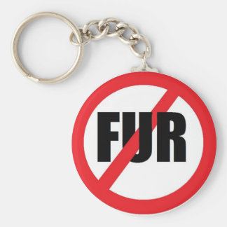 V-fur Key Ring
