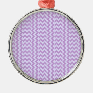 V&H Simple Wide Zigzag-Wisteria and Pale Lavender Ornaments