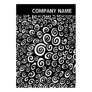 V Header - Image - Spirals Pack Of Chubby Business Cards