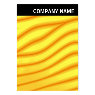 V Header - Image - Yellow Waves Pack Of Chubby Business Cards