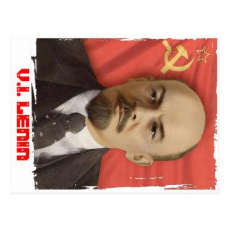 """""""V.I. LENIN"""" Postcard"""