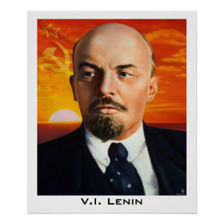 V.I. Lenin Poster