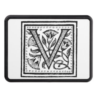 V Initial from A Monk of Fife Tow Hitch Covers