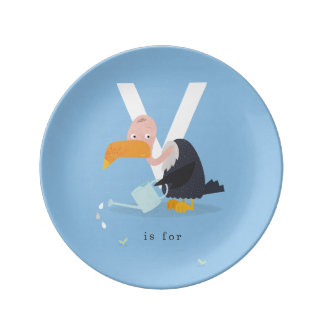 V is for... plate