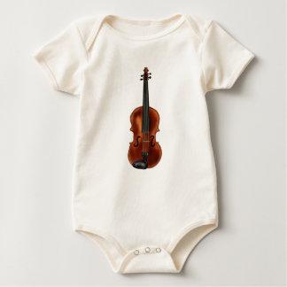 V is for Violin Baby Bodysuit