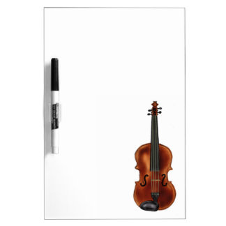 V is for Violin Dry Erase Whiteboard