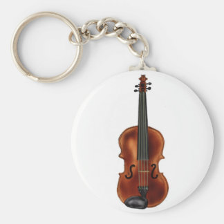 V is for Violin Key Chain