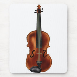 V is for Violin Mouse Pad