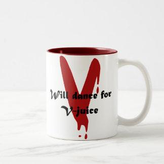 V-Juice Two-Tone Coffee Mug