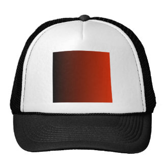 V Linear Gradient - Black to Red Cap