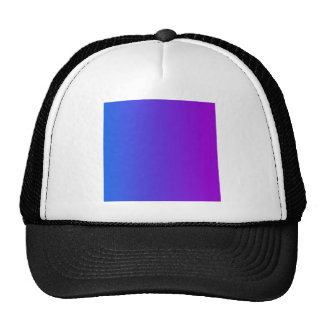 V Linear Gradient - Blue to Violet Mesh Hats