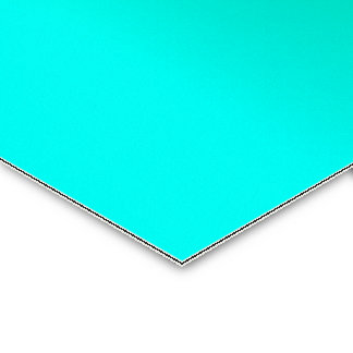 V Linear Gradient - Cyan to Green Business Card Template