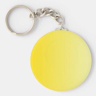 V Linear Gradient - Dark Yellow to Light Yellow Keychains
