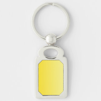 V Linear Gradient - Dark Yellow to Light Yellow Key Chain