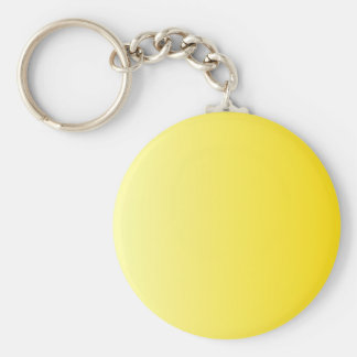 V Linear Gradient - Light Yellow to Dark Yellow Key Chain