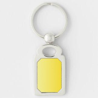 V Linear Gradient - Light Yellow to Dark Yellow Key Chains
