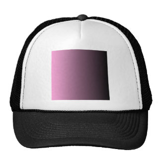 V Linear Gradient - Pink to Black Cap