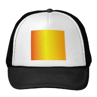 V Linear Gradient - Red, Yellow, Orange Trucker Hats