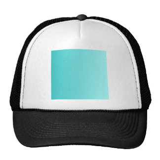 V Linear Gradient - Turquoise to Light Cyan Trucker Hat
